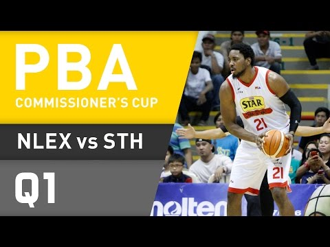 NLEX VS. STAR - Q1| Commissioner's Cup 2016