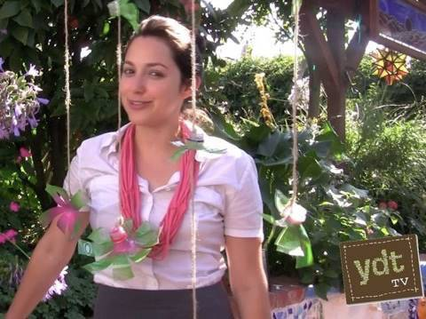 How to Make Hanging Flowers Out of Recycled Plastic Bottles : Your