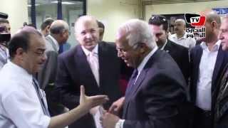 وزير الصحة ومحافظ القاهرة يفتتحان وحدة الغسيل الكلوي بمستشفى النقل العام