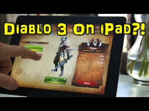 Diablo 3 On iPad?! Dungeon Hunter 4 App Review for Android/iOS