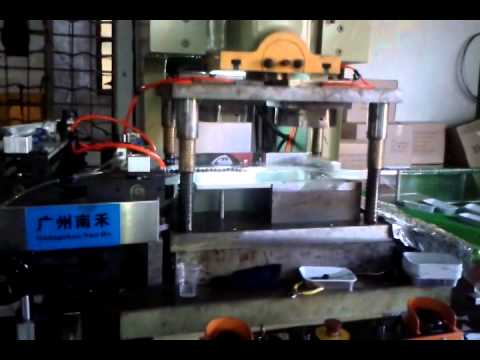 Aluminum foil container making machine For Airline meal box AF-63T