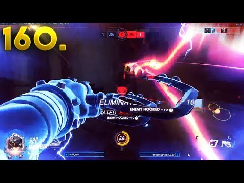 0.01% Perfect Roadhog Timing!! | OVERWATCH Daily Moments Ep. 160 (Funny and Random Moments)