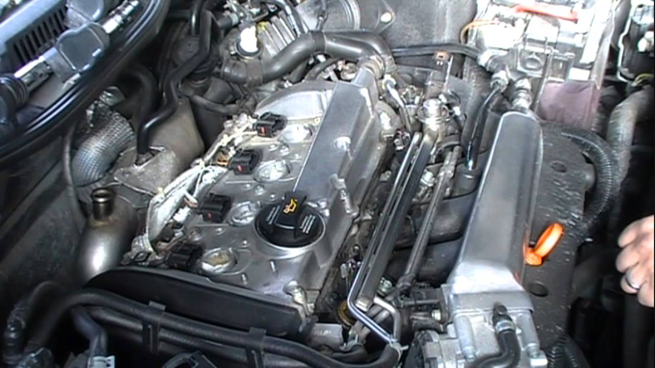 Vw Mk4 1 8t Valve Cover Gasket D I Y Youtube