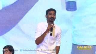 Dhanush sings a song from VIP live