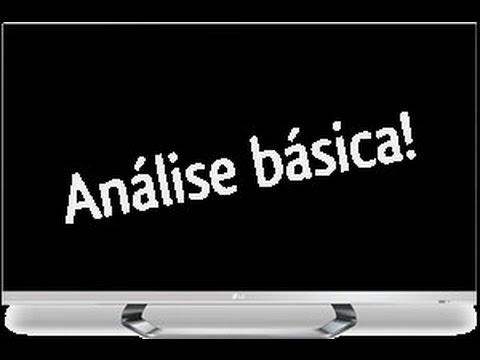 ANÁLISE BÁSICA - FORMATOS RECONHECIDOS - TV LED 3D 42
