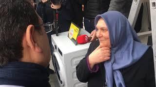 CHP İstanbul Büyükşehir Belediye Başkan Adayı Ekrem İmamoğlu, Esnafları Ziyaret Etti.