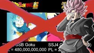 Dragon Ball Super VS Dragon Ball GT Power Levels DEBUNKED!