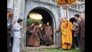 Xúc động Thiền sư Thích Nhất Hạnh đã về chùa Từ Hiếu