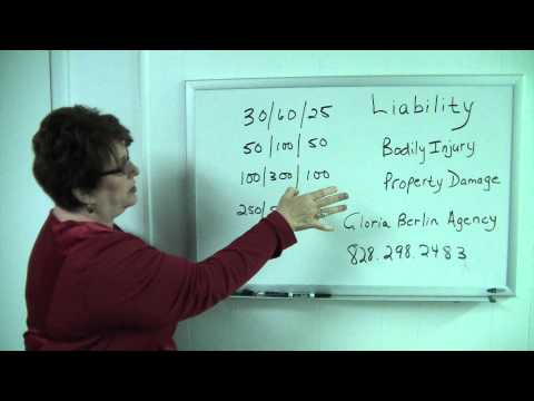 Liability Auto Insurance in NC by Gloria Berlin Agency Asheville Insurance and Financial Planning