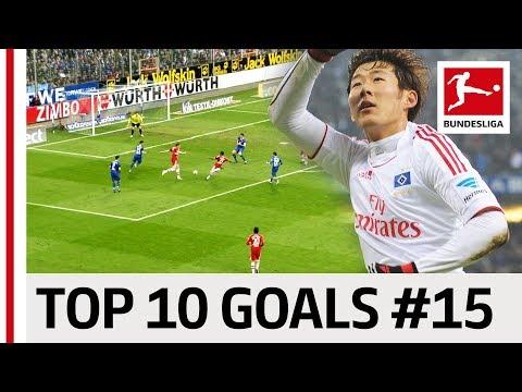 Top 10 Goals Jersey Number 15 - Son, Hummels amp Co.