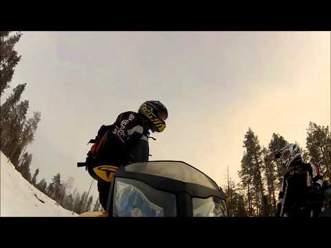GoPro Hero HD2 - Snowmobile 2013