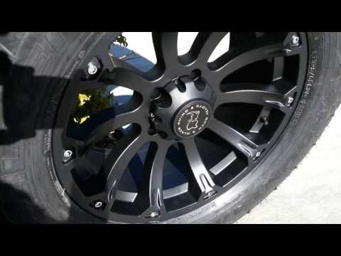 Black Rhino Sidewinder Wheels 20x9
