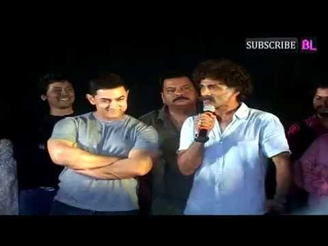 Aamir Khan At Marathi Movie Saturday Sunday Premiere Part 1