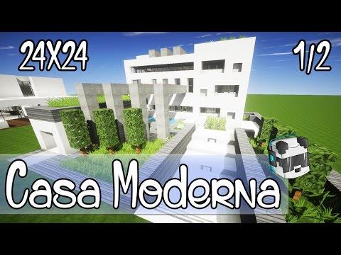Como Hacer Una Casa Moderna En Minecraft Descarga