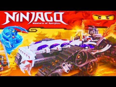 LEGO Ninjago Turbo Shredder Giveaway! Ninjago Toy Review + Zane DX! CONTEST NOW CLOSED