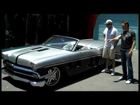 Chip Foose Cars >> Adam Carolla talks to Chris Titus about his Custom 1956 Chevy - YouTube