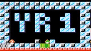 LIFE OF MARIO: Year 1 - 30 by CheezSauce ~ SUPER MARIO MAKER ~ NO COMMENTARY
