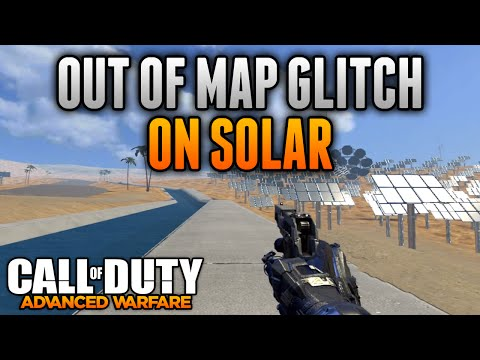 Advanced Warfare Glitches - Out of the Map Glitch on Solar - COD AW Glitches