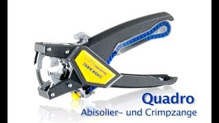 Jokari -- NEW -- Abisolierzange Quadro / Wire Stripper Quadro (NEW Video 2012)