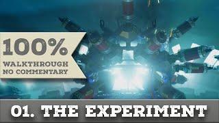 Quantum Break Walkthrough part 1 RIVERPOINT UNIVERSITY EXPERIMENT (Hard, All Collectibles)