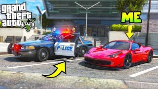I followed a cop around... You won't believe what he does!! (GTA 5 Mods - Evade Gameplay)