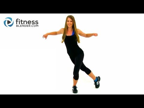 Easy on the Knees Kickboxing Blend - Low Impact Cardio Workout for Beginners Image 1