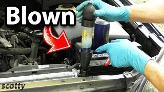 How to Test a Blown Head Gasket in Your Car