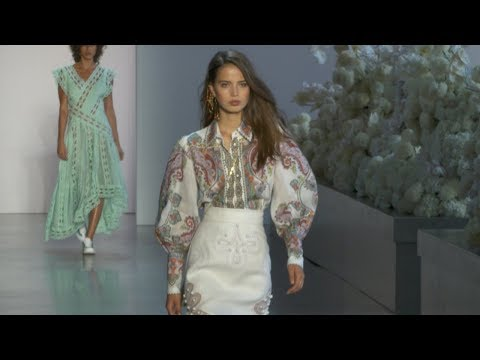 ZIMMERMANN New York Fashion Week Spring/Summer 2019