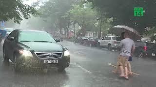 Bắc và Trung bộ mưa lớn do hoàn lưu bão số 6 | VTC14