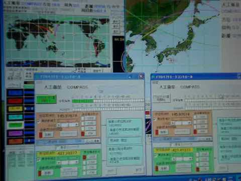 COMPASS-1 - Tetsu, JA0CAW receives CW telemetry beacon