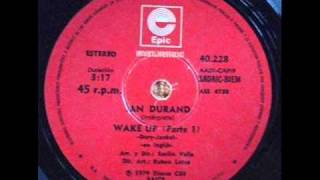 IAN DURAND wake UP ... por Carlos Altable