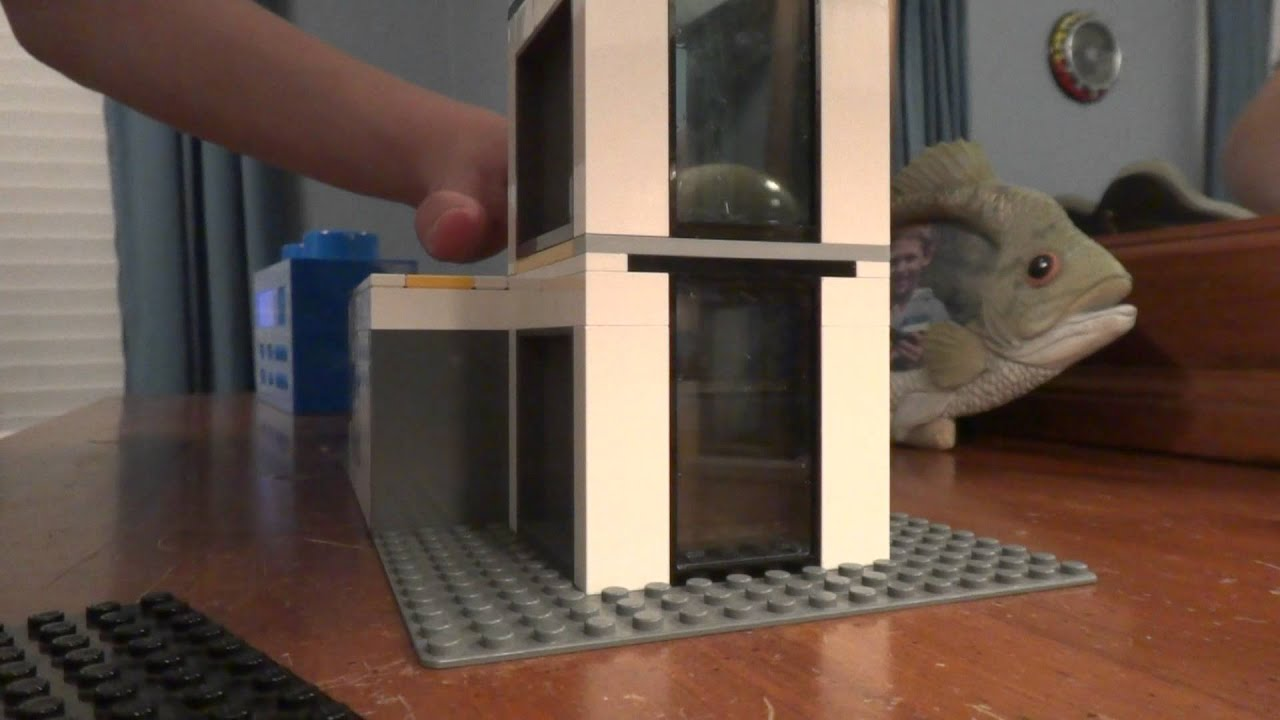 Lego Mall With Working Elevator For Dieselducy Youtube