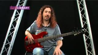 Bass Lessons Technique by dan veall - tuning hardware and the basics