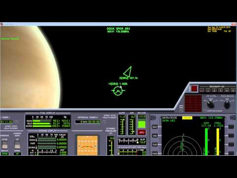 Space Flight with Orbiter 2010 part 2