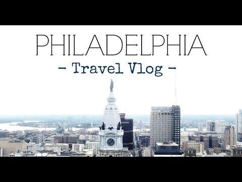 Philadelphia Travel Vlog // Follow Me Around