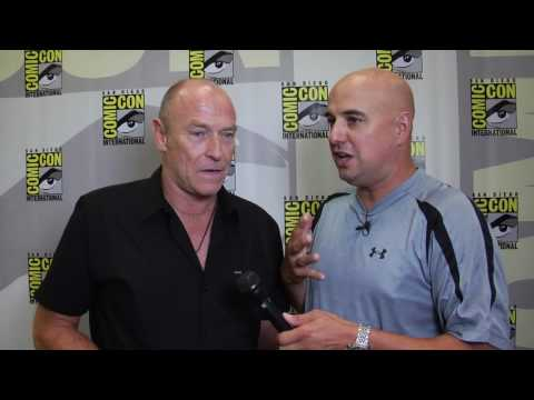 Corbin Bernsen (Henry Spencer) interview for PSYCH at Comic Con 2010 Video