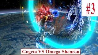 Hoạt hình kid Dragonball Tập #3 SonGoku cấp 4 and Vegeta combine to be Gogeta cấp lv4 vs Omega Shenr