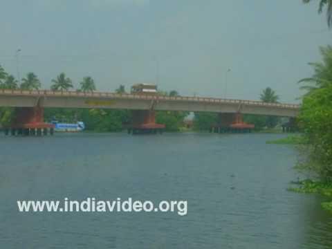 River Pallathuruthy - adding beauty to the backwaters