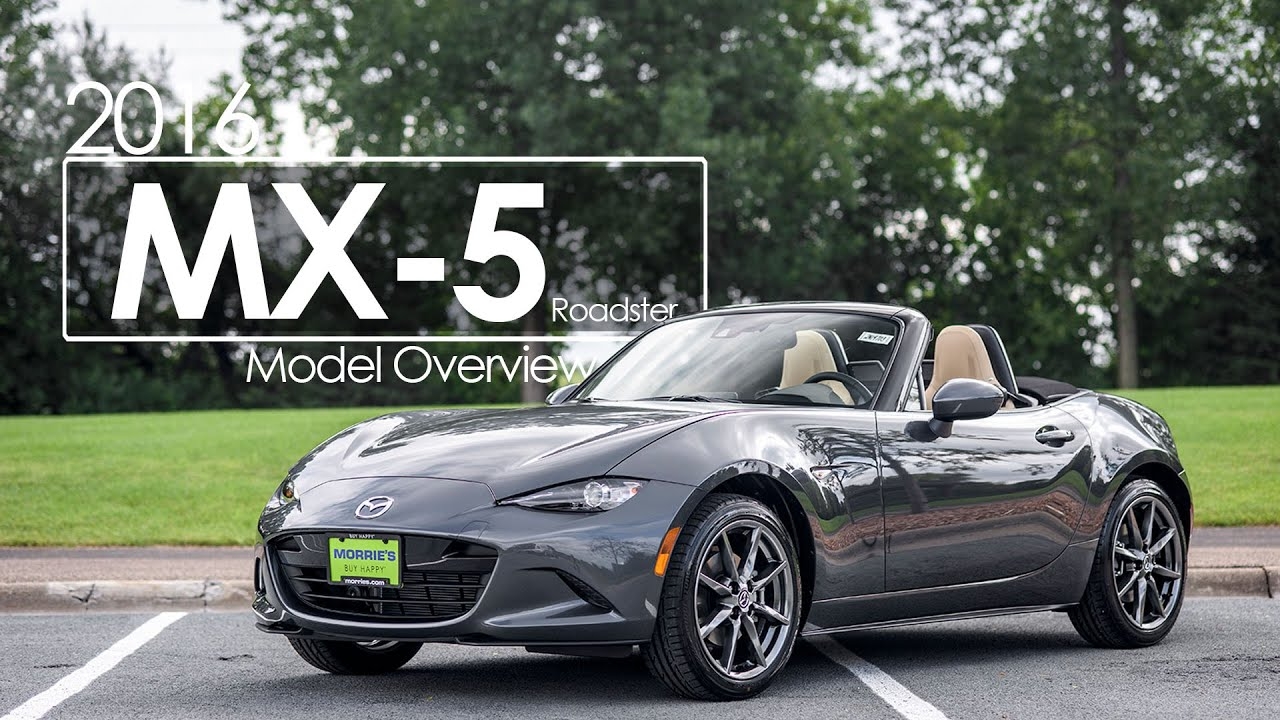 2016 Mazda MX-5 Roadster - First Test Drive & First Look ...
