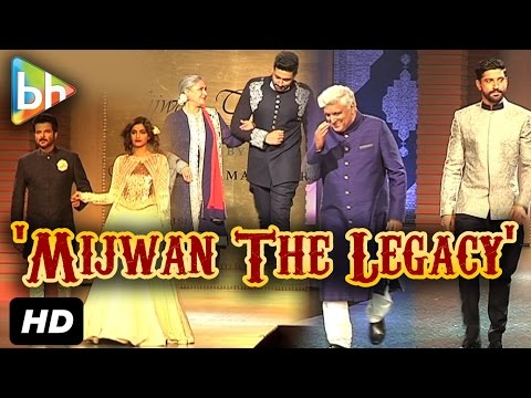 Amitabh Bachchan | Sonam Kapoor | Sonakshi Sinha Walk The Ramp At 'Mijwan The Legacy' Fashion Show