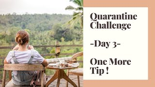 Stop Gaining Weight-Quarantine Week Challenge-Day 3 #Weight loss#Quarantine#stay at home#secret