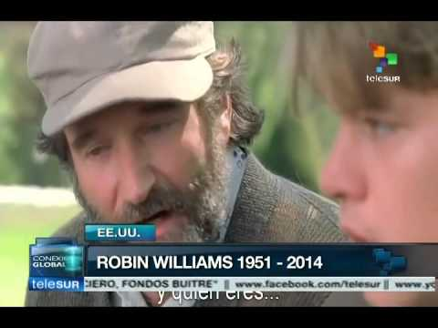 Describe Steven Spielberg a Robin Williams como
