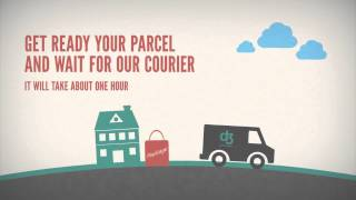 Logistics Company Delivery Promo after effects templates