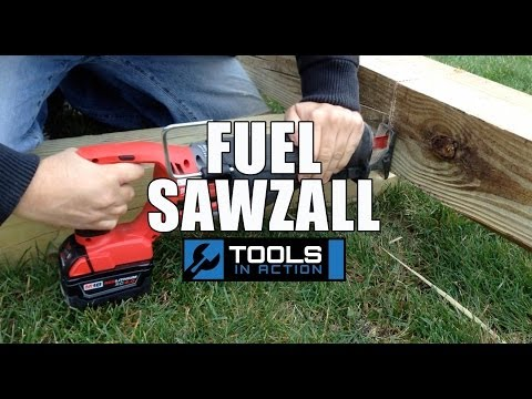 Milwaukee M18 Brushless FUEL SAWZALL Reciprocating Saw - Review