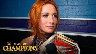 Becky Lynch isn't finished with Sasha Banks: WWE Exclusive, Sept. 15, 2019