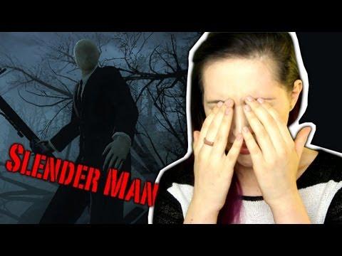 Slender Man GAME / Девушка и Видеоигра