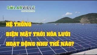 [Thuyết minh] Hệ thống điện mặt trời hòa lưới hoạt động như thế nào?