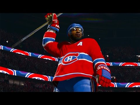MY FIRST GAME IN THE NHL! Epic Penalties, Break aways, and PRICE! NHL 2015 #1