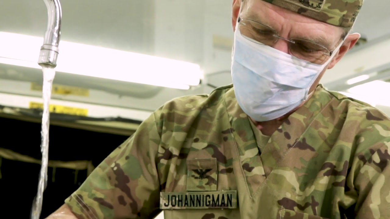 COL Jay Johannigman, Army Reserve Physician, Cincinnati, OH, tells us why he loves the Army Reserve.