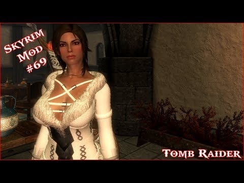 The Elder Scrolls V: Skyrim - Tomb Raider 2013 Mod